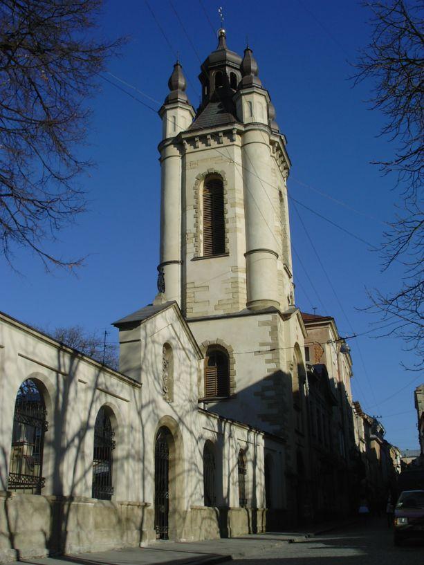 Die Armenische Mariä-Entschlafenskathedrale in Lemberg