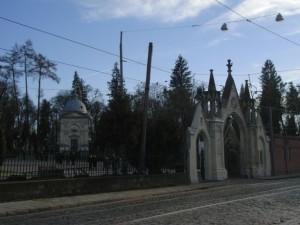 Der Lytschakiwskyj Friedhof in Lemberg