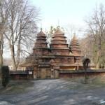 """Die Kirche aus dem Dorf Krywky im """"Schewtschenkiwskyj Haj"""", Lemberg"""