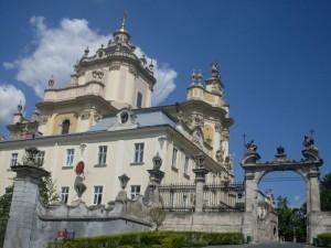 Die griechisch–katholische St. Georg–Kathedrale im Lemberg