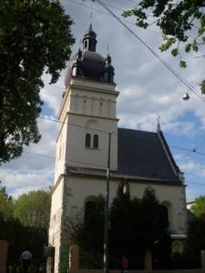 Die St. Paraskewa–Freitagkirche in Lemberg