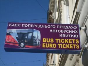 Anreise mit dem Bus