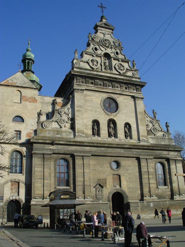 Die Bernhardinerkirche in Lemberg
