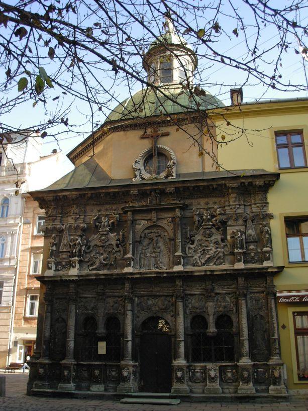 Die Boim-Kapelle in Lemberg