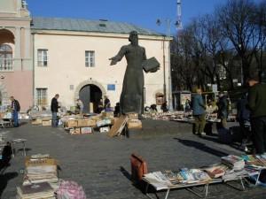 Das Iwan–Fedorow–Denkmal in Lemberg