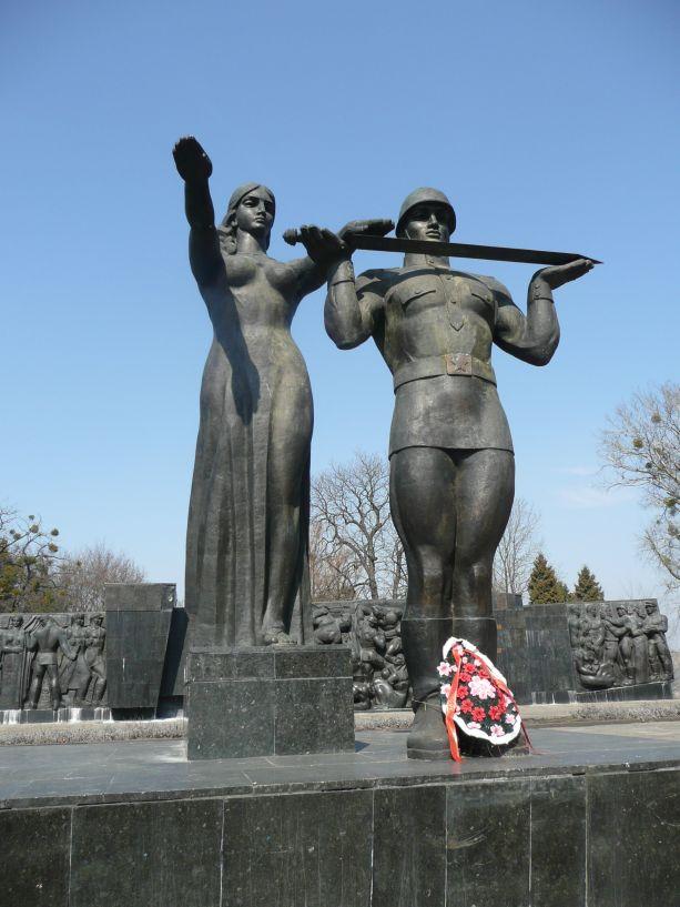 Das Monument des Ruhmes in Lemberg