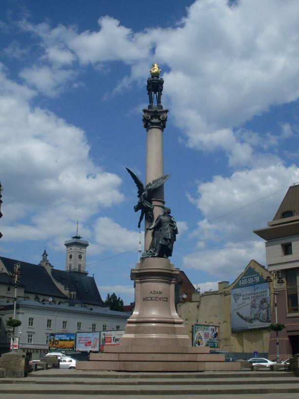 Das Adam–Mickiewicz Denkmal